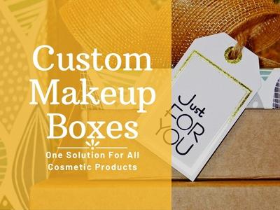 Custom Makeup Boxes Only Solution For All Cosmetic Boxes ux packaging ui branding business marketing banners ideas illustration design cosmetic boxes cosmetics custom makeup boxes