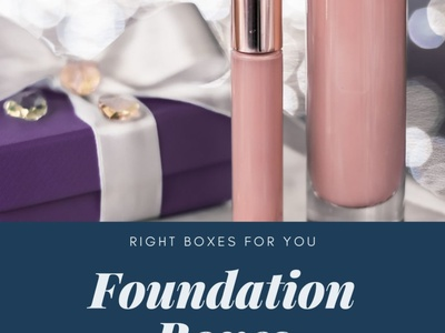 How Custom Foundation Boxes Are Important ux ui branding logo marketing illustration business design cosmetics cosmetic boxes packaging cardboard boxes custom foundation boxes