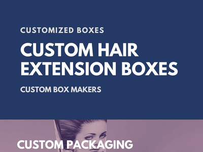 Custom Hair Extension Boxes Helpful in Brand Growth creative brnading ui box designs design illustration cosmetics cosmetic boxes custom boxes with logo business marketing custom packaging boxes cardboard boxes packaging custom boxes custom hair extension boxes