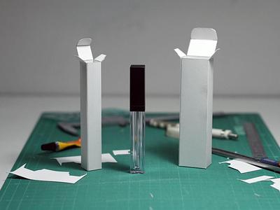 Lip Gloss Box Packaging lip gloss box packaging lip gloss custom lip gloss boxes custom boxes with logo ux ui cosmetics marketing cardboard boxes packaging design illustration cosmetic boxes