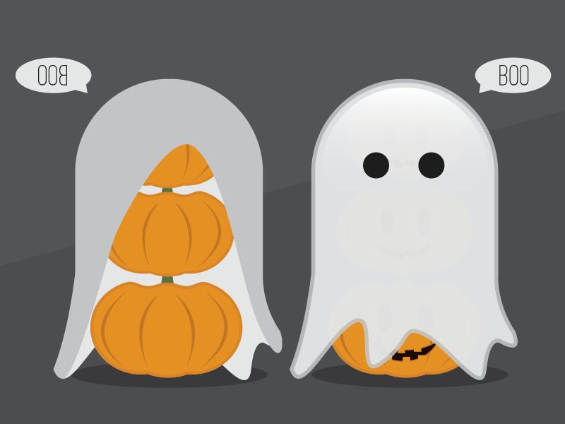 Pumpkin pumpkin ghoul ghost pumpkins boo illustration