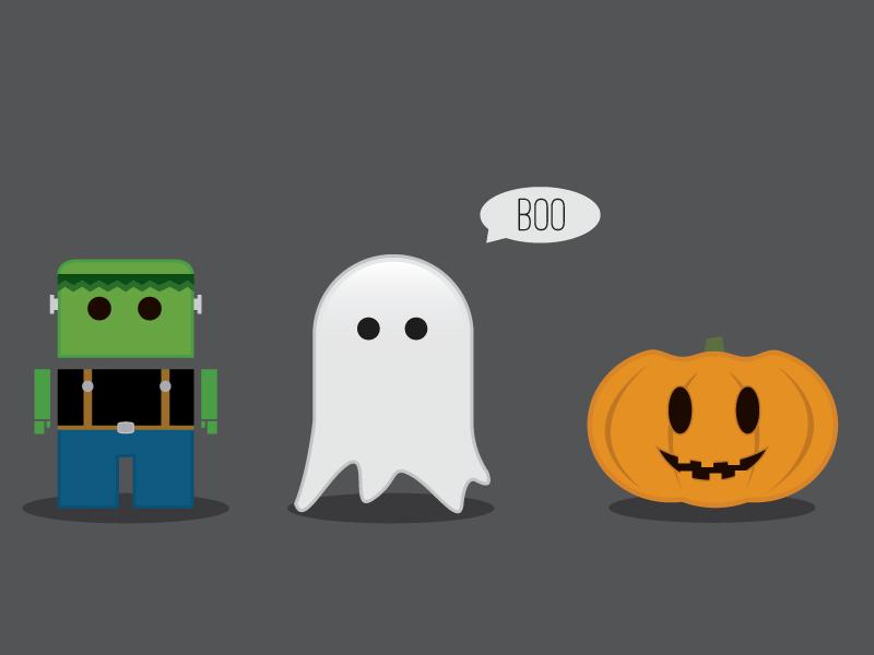 Halloween Friends halloween pumpkin friends ghosts ghost frankenstein boo