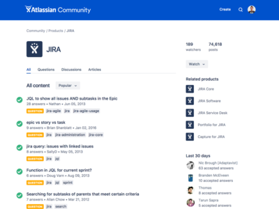 Atlassian Community user experience qa question and answer user community