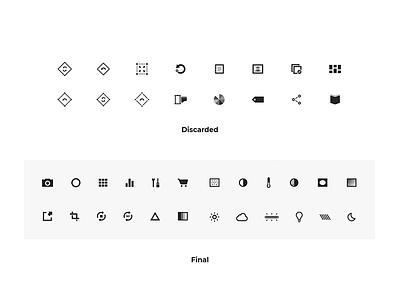 VSCO Icons mobile app vsco iconography icons