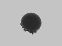 Sphere Displace sphere 3d c4d