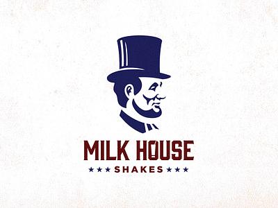Milkhouse Shakes | V1 history typography logo illustration icon graphic design flat design clean branding brand identity art