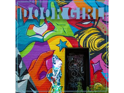Door Girl Album Art branding design albumart
