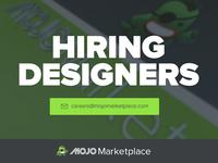Now Hiring Web/UX Designer