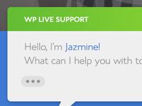 WordPress support landing page