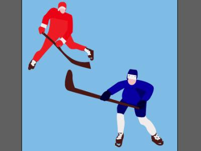 хоккеисты print on the wall print on masks print for cups of coffee and tea hockey game gate puck hockey stick hockey ice hockey player hockey players illustration hockey players illustrator hockey players vector