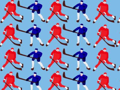 паттерн хоккеисты print on the wall print on masks print for cups of coffee and tea hockey game gate puck stick hockey ice hockey player hockey players illustration hockey players illustrator hockey players vector goalkeeper