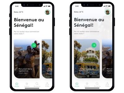 Senegal trapvel's app concept