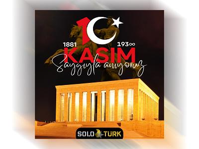 SoloTürk 10 Kasım Tasarımı