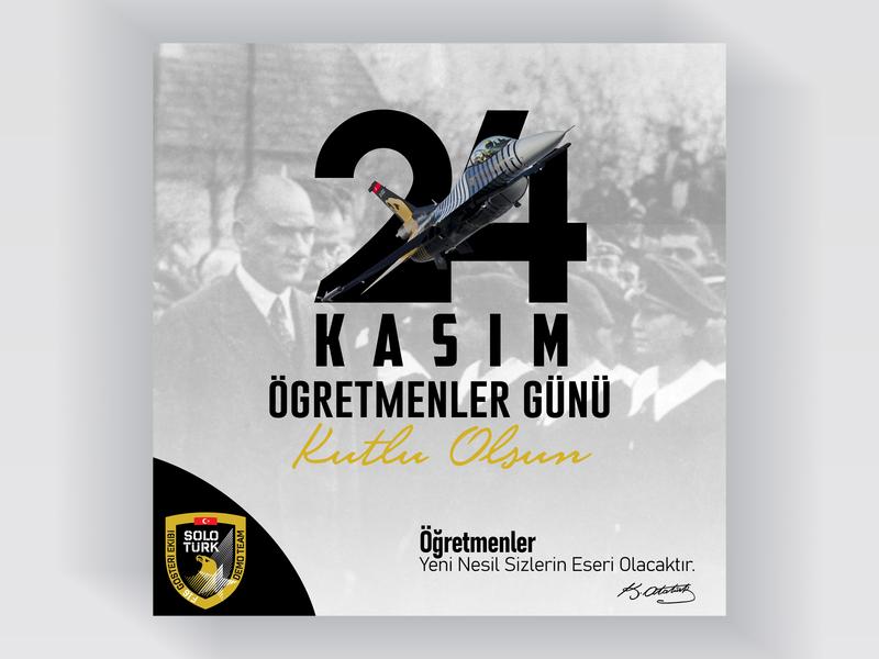 SoloTürk 24 Kasım Tasarımı