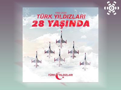 Türk Yıldızları'nın 28. Yıl Dönümü / Alternatif Tasarım