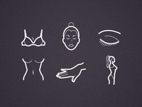 icons for plastic surgeon