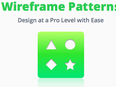 Wireframe Patterns Hero Image
