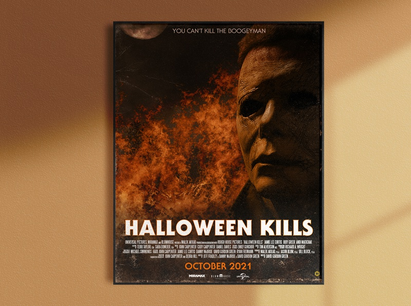 Halloween Kills [2021] Poster Concept
