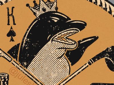 King of the Bay 👑 graphicsdesign ipadpro design illustrator procreate art procreate digital illustration illustration apparel design