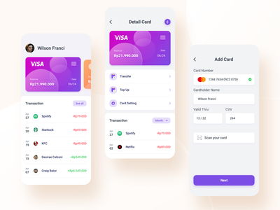 #Exploration UI Finance App design illustration financial uidesign uiux cards ui mobile app finance app