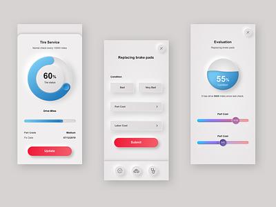 skeuomorph design app design ui design 2020 trends uxui ui trend ui trends ui skeuomorphic skeuomorph
