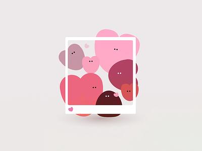💕 love valentines day heart illustration