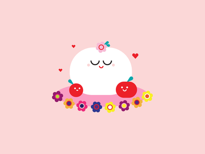 Happy Mother's Day! flower mom illustration mothers day