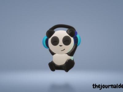 3d 🐼 panda