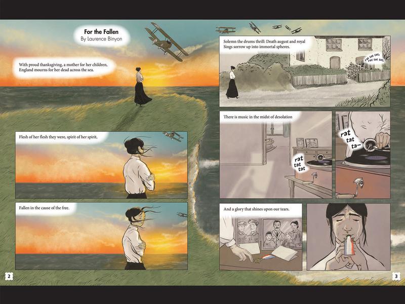 For the Fallen book childrens illustration digital illustration adobe photoshop illustration