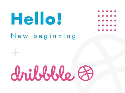 Hello dribbble! webflow branding web design firstshot