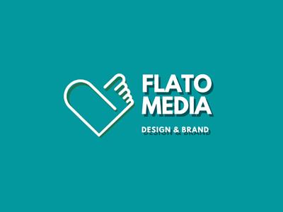 Flatomedia - New Logo Design - Design & Brand logo design logo typography icon vector ux design ui design brand ux illustration ui branding social media invite startup flat debut design