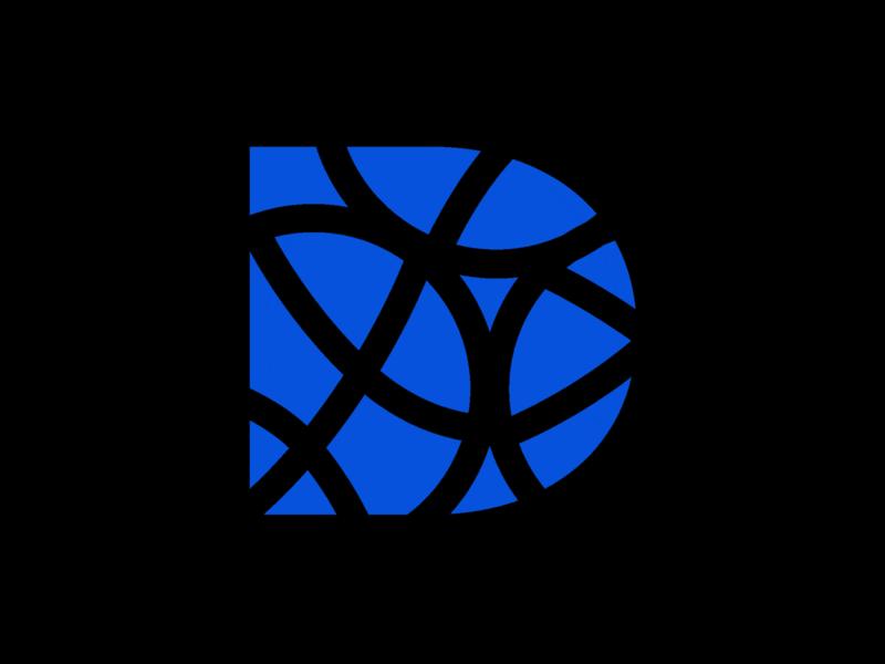 New Logo Design for my Portfolio typography illustration ui branding flat digital alphabet d dribbble concept design favicon icon logo d dinesh awtani
