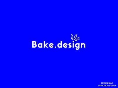 Bake.design - Premium Name on Sale marketing sale premium media invite startup branding illustration ui domainer brand design identity domain name brand domains marketplace domain