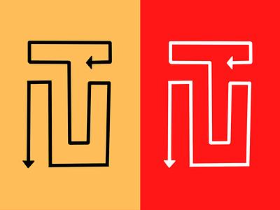 Branding for TN ARROWS vector ux ui icon startup dribbble logo branding illustration design