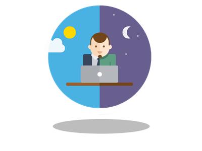 Entrepreneur entrepreneur dribbble daynight india web design flat flato