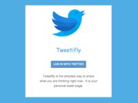 Tweetifly - Your Personal Tweet Page