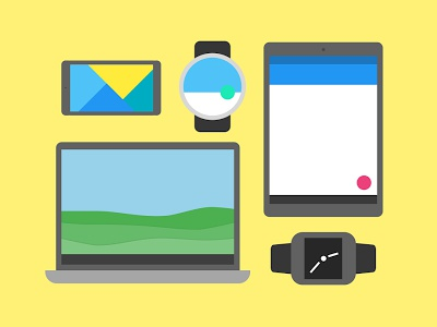Flato Designed Devices devices google design google debut startups design material material design