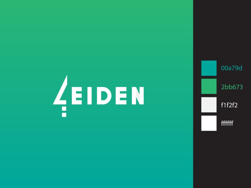 Leiden icon art branding ui minimal flat design illustration logo