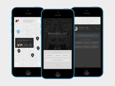 iOS app design ux product design mobile ios