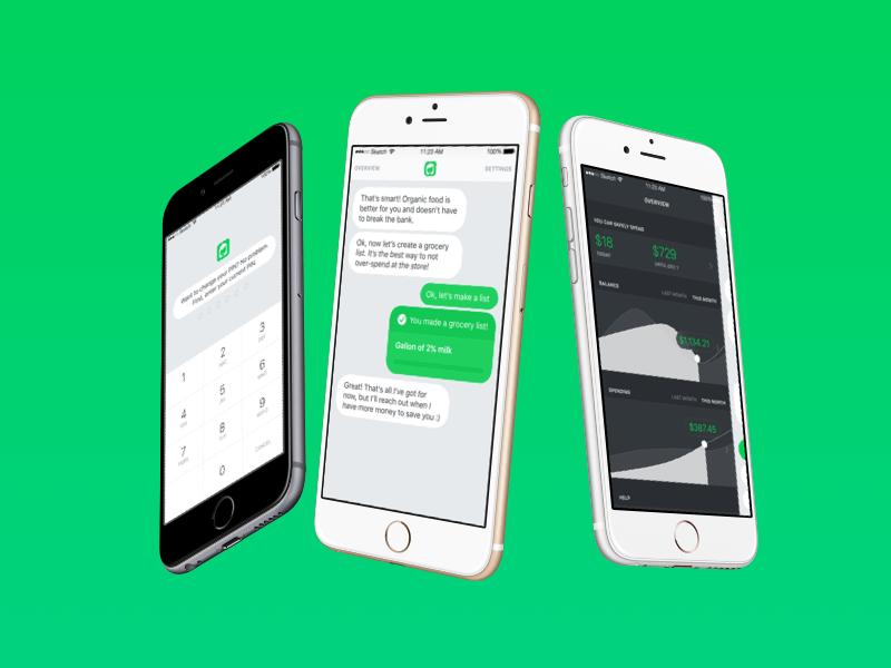 Olivia AI product design strategy ios ui ux mobile design