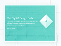 Digital Design Oath
