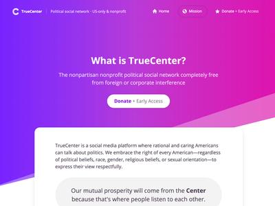 TrueCenter Mission