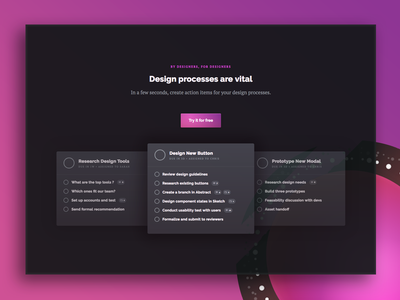 Trino – Task manager for design teams