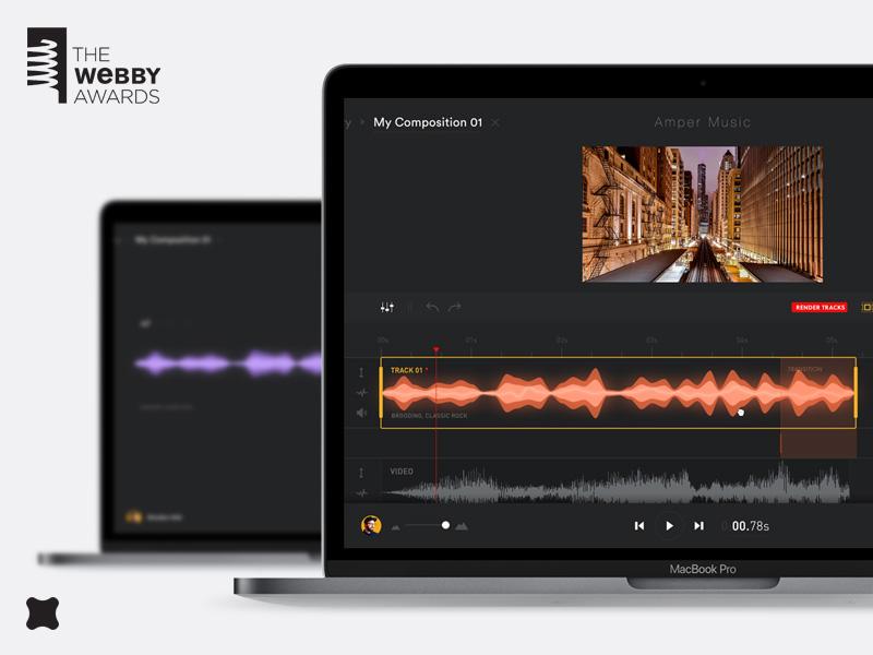 Amper Music nominated for Webby! by George Kvasnikov for FΛNTΛSY on