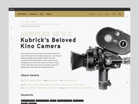 Academy Museum of Motion Pictures cinema typography journal editorial film awards fantasy casestudy behance oscar academy museum