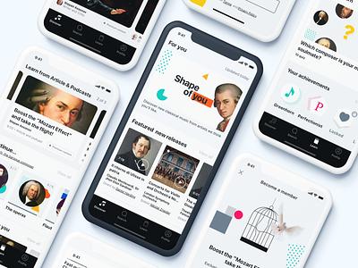 Pentagram - UI app user interface ios app design mobile design mobile app design mobile ui app app design branding ui