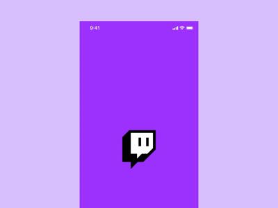 Twitch – redesign sign up form adobexd digital design app design app ui design