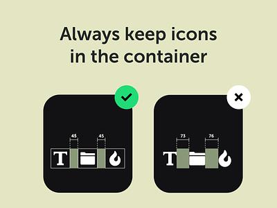 Design Tip icon typoghraphy design tip alignment webdesign ux ui