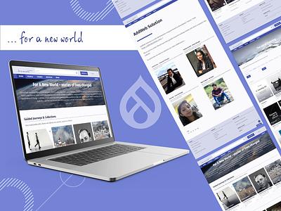 ...for a new world concept branding website developer graphic design colors uiux webdesign