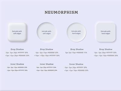 Neumorphism tips custom design colors theme illustration shadow design uiux ux ui neumorphism